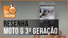 Moto G XT1543 Motorola Smartphone - Vídeo Resenha EuTestei Brasil