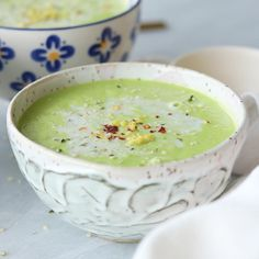 Creamy Broccoli Soup | Love Nourish Inspire | Instagram