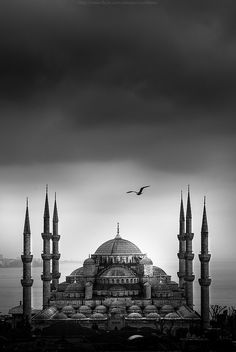 Blue Mosque, Istanbul, Turkey - with 6 towers
