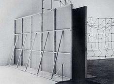 Bruce Nauman, Performance Corridor installed at the Whitney Museum, 1969