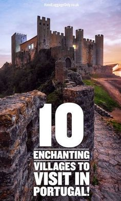 10 Enchanting Villages To Visit In Portugal - Hand Luggage Only - Travel, Food… #portugaltravel #portugalfood