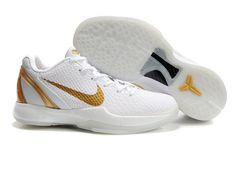 Nike Kobe Zoom VI in Gamboge/White  -  nbashoeswholesale.com