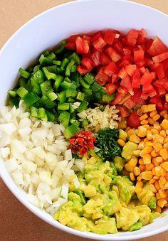 Guacamole Chilli | Receita | herbi-voraz.com #guacamole #vegan #abacate #mexican