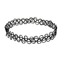 JQUEEN Black Gothic Stretch Elastic Double Line Henna Tattoo Choker Pendant Collar Necklace for 80s 90s JQUEEN http://www.amazon.com/dp/B013JOON8I/ref=cm_sw_r_pi_dp_5smOwb0HZ63K2