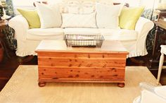 Cedar Chest - Before & After
