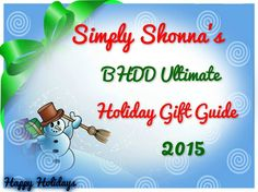 Its The MOST wonderful time of the year! AND the busiest for most of us! That is why the Simply Shonna'sBHDD loves Gift Guides! See what is the best of the best! Get DIRECT links to pro…