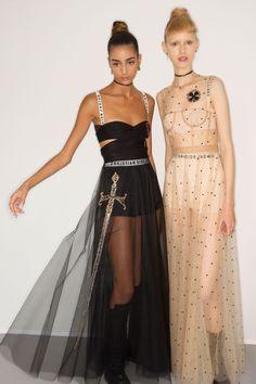 Christian Dior Spring/Summer 2017 Ready-To-Wear Backstage   British Vogue