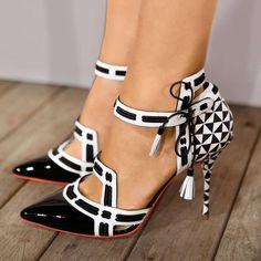 c2bfc35e7ca235 Women s party Patchwork Pointed Toe Ladies Sexy Ankle Strappy High Heels  Sandals. Strappy HeelsPumps HeelsStiletto ...