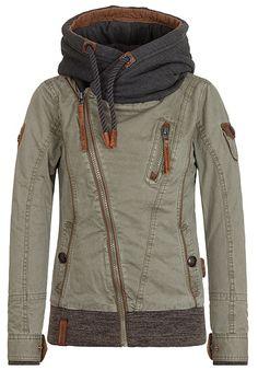 b5e4a51fd379 NAKETANO Walk The Line - Green Jacken Für Frauen, Walking, Kleidung, Euro,