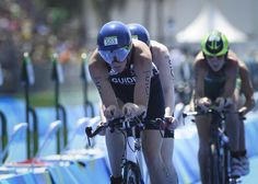 Alison Patrick and Hazel Smith (guide): Silver in the women's triathlon PT5.