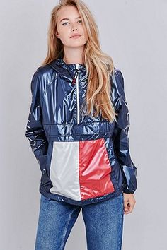 Tommy Jeans Navy Pullover Jacket 470906b85