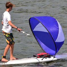 Foldable Kayak Boat Wind Sail Sup Rowing Boats Paddle Board Sailing Canoe Stroke Paddle Wind Clear Window Kayak Wind Sail Paddle Boat, Paddle Boarding, Cross Country Bike, Kayaking Outfit, Kayak Rack, Kayak Boats, In Case Of Emergency, Windsurfing, Rowing