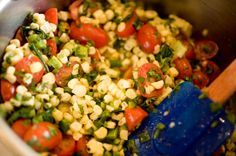 Raw Mexican Sweet Corn Salad! Low Fat Raw Vegan 80/10/10 by FullyRaw Kristina Carrillo-Bucaram
