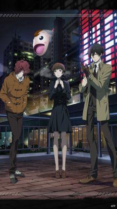Hinakawa, Tsunemori, & Ginoza Manga Anime, Anime Art, Awesome Anime, Anime Love, Ginoza Nobuchika, Science Fiction, Kuzu No Honkai, Love Stage, Psycho Pass