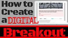 How to Create a Digital Breakout for the Classroom – Engaging and Effective Teaching Breakout Edu, Breakout Game, Breakout Boxes, Breakout Online, Middle School Technology, Middle School Libraries, Middle School Science, Teacher Librarian, Teacher Blogs