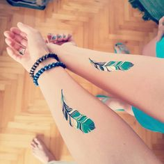 Friendship bff tattoos