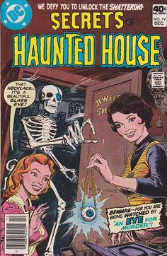 1000 images about horror comics on pinterest horror for Classic haunted house novels