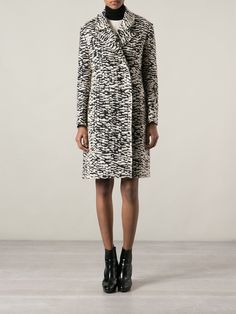 Lanvin Leopard Print Coat - Montaigne Market - Farfetch.com