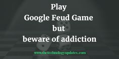Google Feud is the web base game available on web and beware it is addictive. Risk of addiction. Google Feud is based on Google suggestion and pops real time keywords. It uses Google API for Real-Time questions and results right from Google's auto complete. It is created by Justin Hook. They select the questions, then …