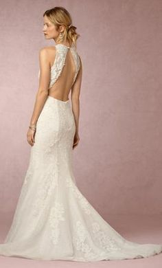 BHLDN Jensen Gown wedding dress currently for sale at 33% off retail.