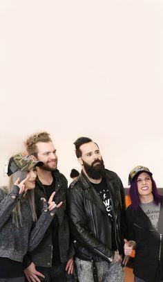 Skillet Band, Christian Rock Bands, Christian Music, Rock Artists, Music Artists, Francesca Battistelli, Lauren Daigle, Band Wallpapers, Vic Fuentes