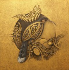 Maori Themes in branding Indigenous Art, New Zealand Tattoo, New Zealand Art, Native Art, Maori Art, Polynesian Art, Bird Art, Nz Art, Interesting Art