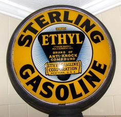Sterling ethyl gas pump globe
