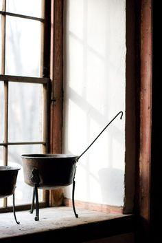 Antique Spider Pots