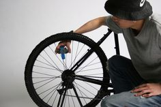 Student invents low-tech bicycle-powered blood centrifuge