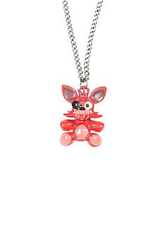 Feelin' Foxy with this Five Nights At Freddy's necklace.