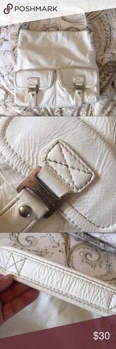 Authentic Michael Kors purse Great White MK purse for this Summer! KORS Michael Kors Bags Shoulder Bags