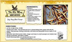 Happy Friday!  This late honey recipe entry is one of BA's in-house favorites and looks like a great game time snack!