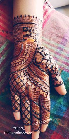 34 ideas for bridal mehendi designs passion Full Mehndi Designs, Latest Bridal Mehndi Designs, Indian Mehndi Designs, Henna Art Designs, Mehndi Designs For Girls, Mehndi Designs For Beginners, Mehndi Design Pictures, Wedding Mehndi Designs, Floral Henna Designs