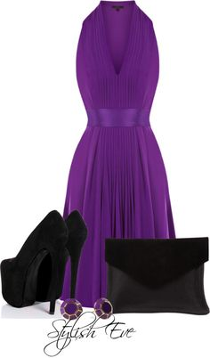 "CLASSIC ~    I would use different shoes.     ""amal"" by stylisheve on Polyvore"