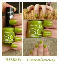 . Rimmel London, Nails, Different Color Nails, Color, Finger Nails, Ongles, Nail, Nail Manicure