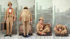 Man in the Suitcase, Paolo Ventura Narrative Photography, Art Photography, Fashion Photography, Flora And Fauna, Modern Art, Gallery, People, Painting, Orange