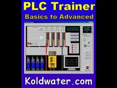 PLCTrainer uses RSLogix ladder logic look and feel. Now includes analog instruction. Receive a second CD free LogixPro, an RSLogix logic simulator Training Software, Training Videos, Free Training, Plc Simulator, Ladder Logic, Plc Programming, Cnc Controller, Automatic Gate, Cbt