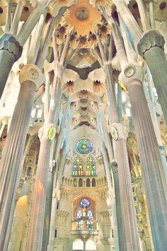Sagrada Familia - Hands down the most beautiful thing I have ever seen.