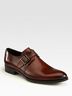 To Boot New York - Campbell Single Monk-Strap Shoes