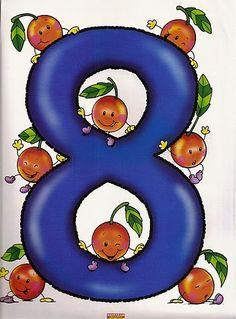 Farm Animals Preschool, Numbers Preschool, Math Numbers, Preschool Worksheets, Letters And Numbers, Math For Kids, Lessons For Kids, Math Lessons, Math Games