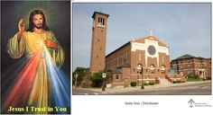 [April 07 at 2:45PM] Divine Mercy Sunday at Saint Ann Parish, Dorchester - Mass and chaplet with The Sisters of Our Lady of Mercy, Saint Faustina's Sisters.