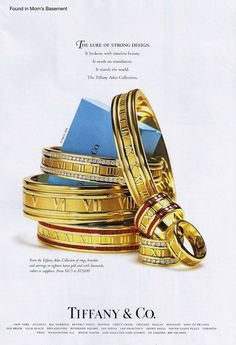 1996 Ad For Tiffany Co