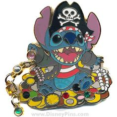 Stitch - Pirate with Jewels