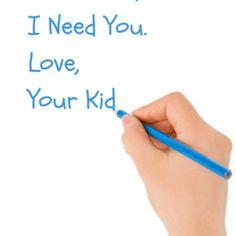 Dear Mom, I Need You
