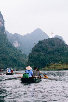 Ninh Binh, Vietnam //Trang An and Tam Coc