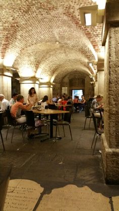 Cafe in the Crypt, St Martin-in-the-Fields, London
