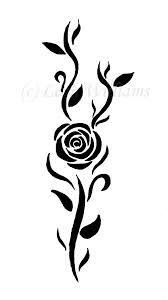 simple rose tattoo - Google Search