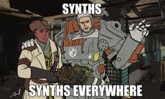 Fallout 4 - I can literally hear that in danse's voice...