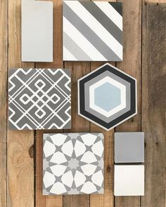 """615 Likes, 4 Comments - Cement Tile Shop (@cementtileshop) on Instagram: """"Lots of great choices, and all in stock! Top: 4x8 Light Grey, Oxford. Middle: Whilden, Strata IV…"""""""