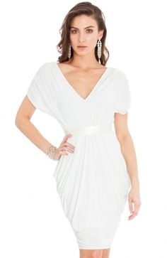 DR557_front White Dress, Bows, Formal Dresses, Fashion, White Dress Outfit, Moda, Formal Gowns, La Mode, Bowties